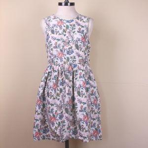 Madewell Sleeveless Floral Cream Color Dress. 6